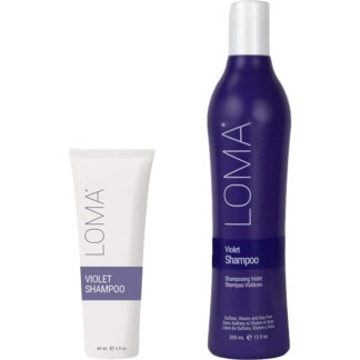 Loma Violet Shampoo Bottles