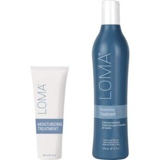 Loma Moisturizing Treatment bottles
