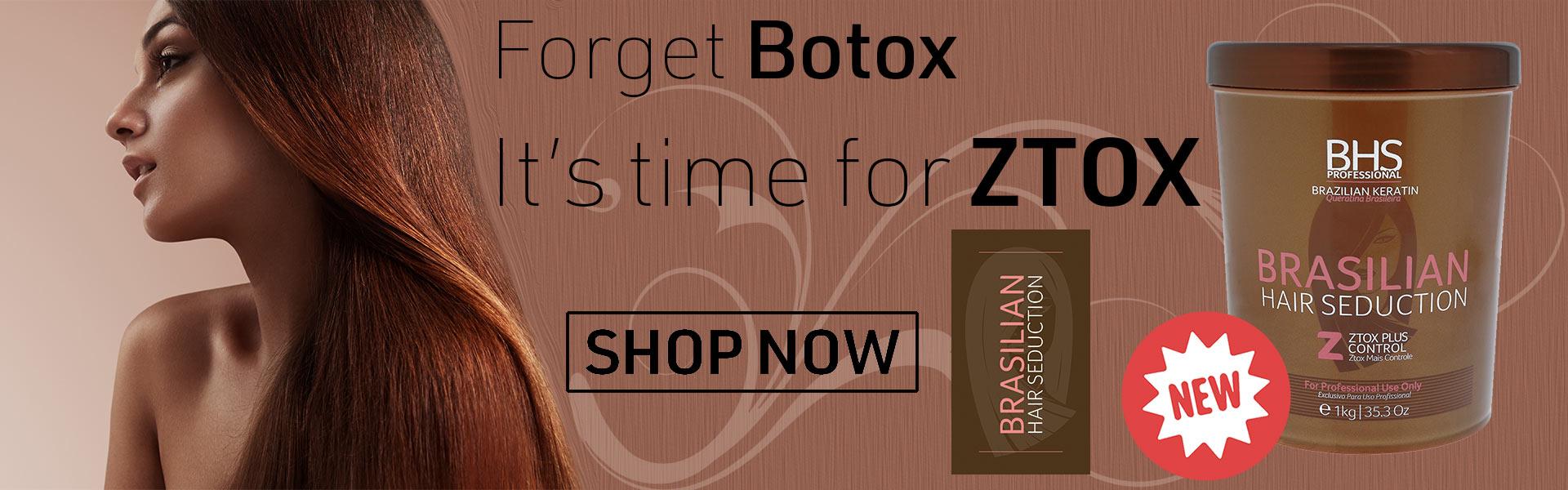 Brasilian Hair Seduction ZTOX Plus Control